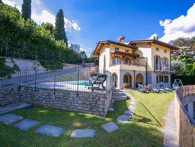 Wonderful family friendly Lake Como villa with private pool