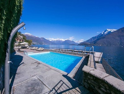 Well presented Lake Como apartment with stunning views & shared swimming pool