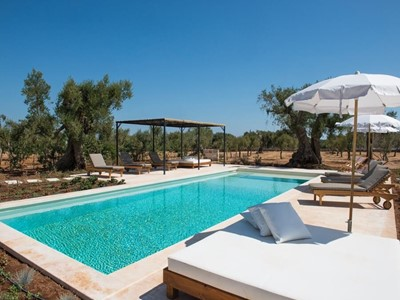 Masseria with private pool in Puglia