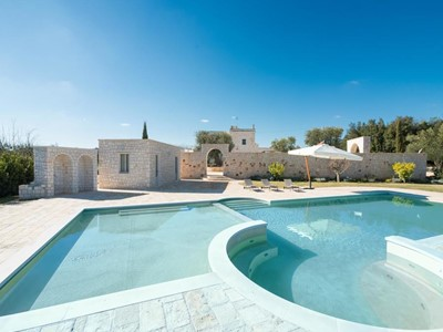 Masseria with private pool near Ceglie Messapica