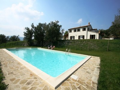 Charming Le Marche villa with pool located approximately 3km from village of Fratte Rosa