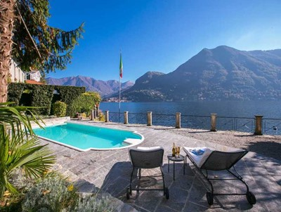 Beautiful large luxury Lake Como villa with private pool
