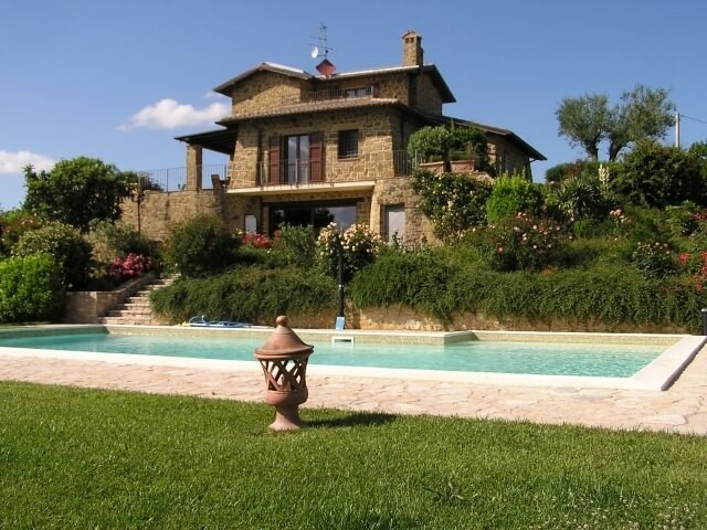 Beautiful stone house with private pool in Umbria