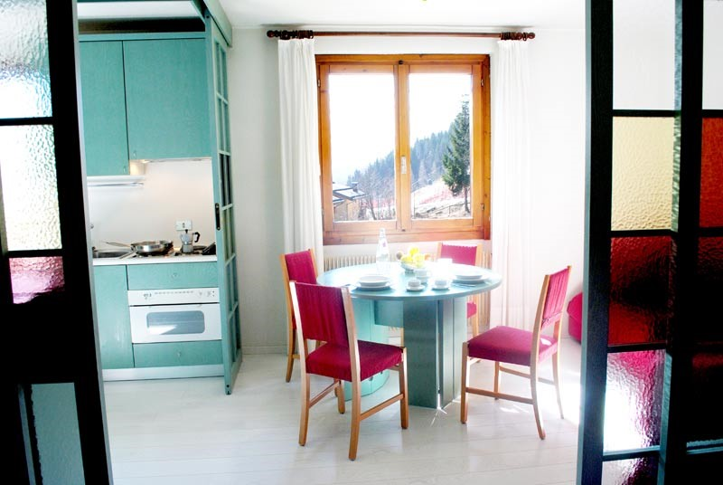 Self catering apartment in Madonna di Campiglio sleeping 4 people in a great location near to the slopes