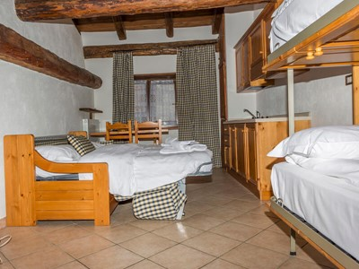 Studio apartment in Sauze d'Oulx for 4 people only 250m from the town center