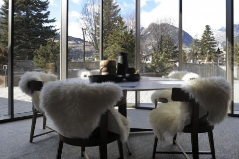 Eden suite in excellent 4 star hotel in Bormio, recommended for clients looking for a bit of luxury