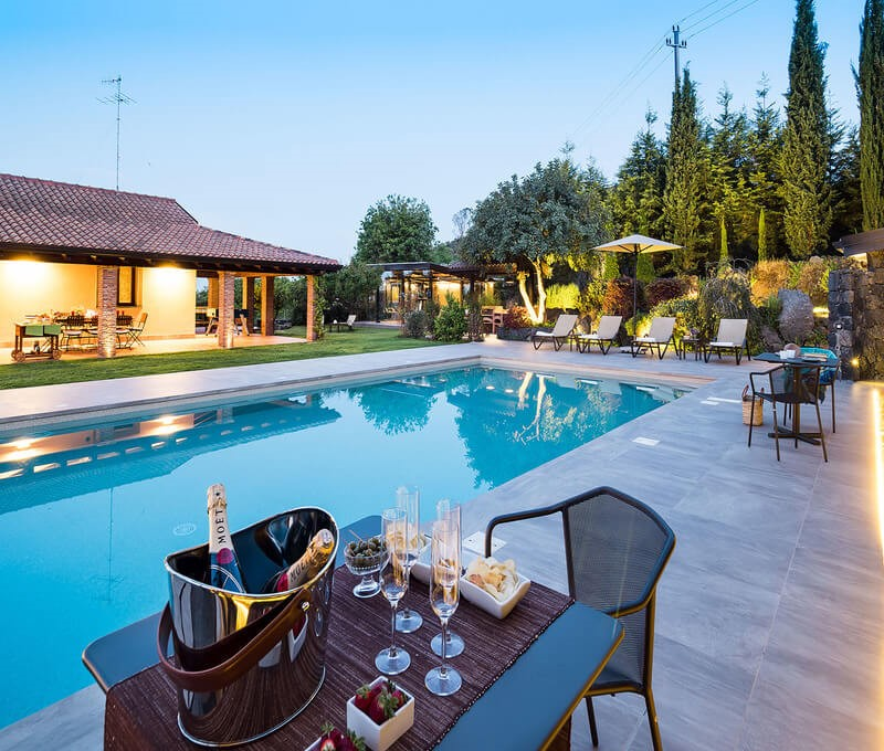 Luxury Sicily villa near Catania with private pool