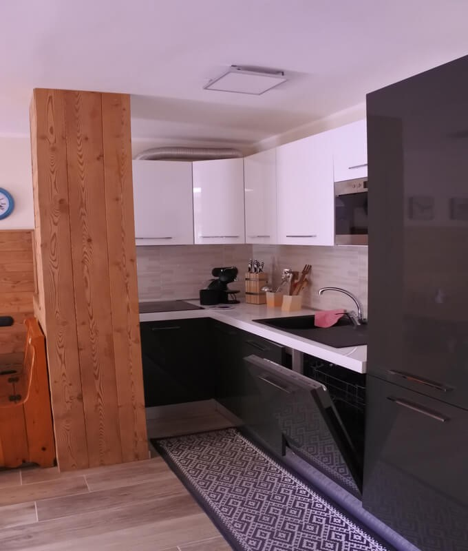Self catering apartment in Sauze d'Oulx sleeping 6 people