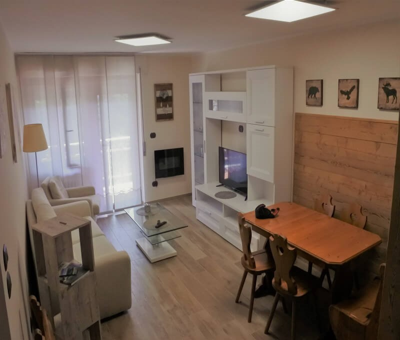 Self catering apartment in Sauze d'Oulx sleeping 4 people