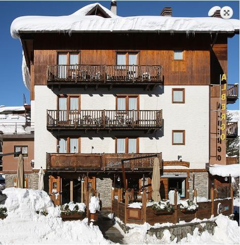 Well located hotel in Sauze d'oulx