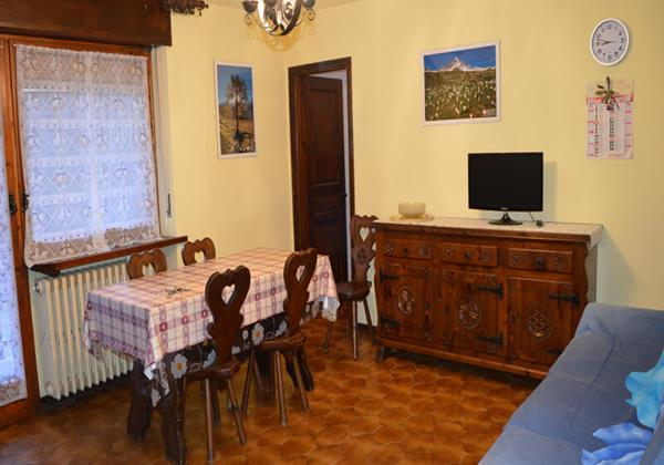 Apartment in Sauze for 6 people in 2 bedrooms