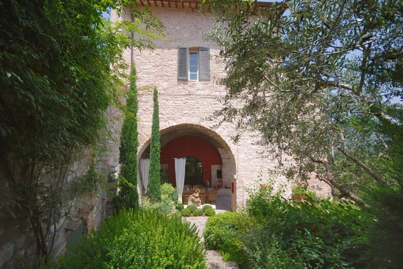 Beautiful villa near the village of Spello not far from Assisi in Umbria