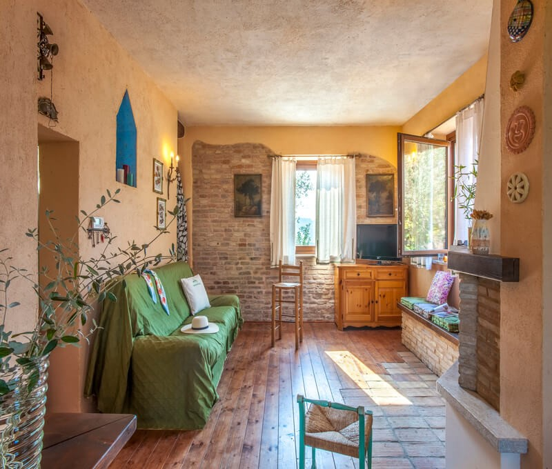 Cosy house in Le Marche not from the Adriatic coast