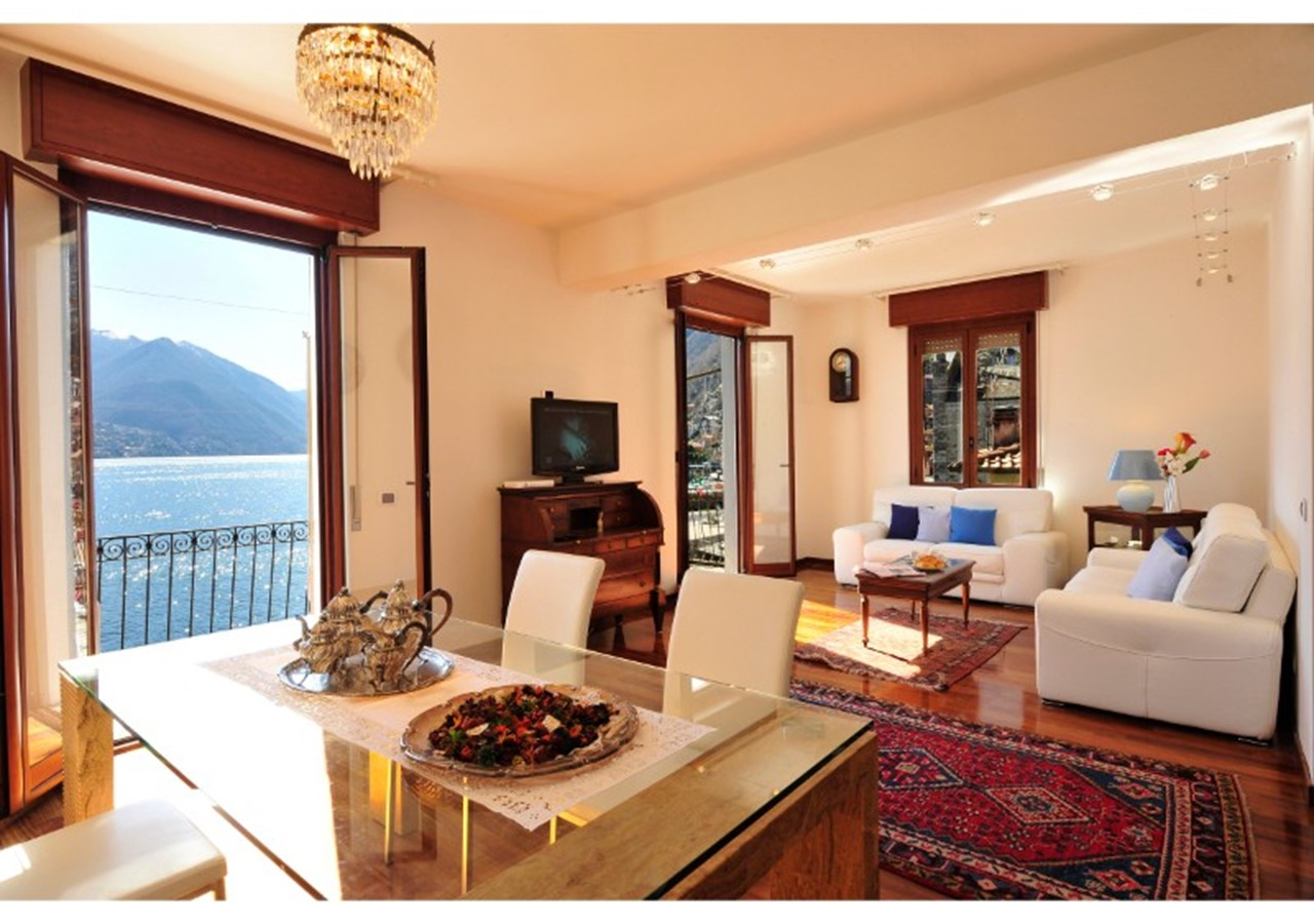 Lakeside apartment for 6 people in Lake Como