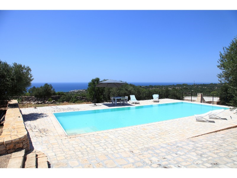 Villa with private pool near Santa Maria di Leuca in southern Puglia