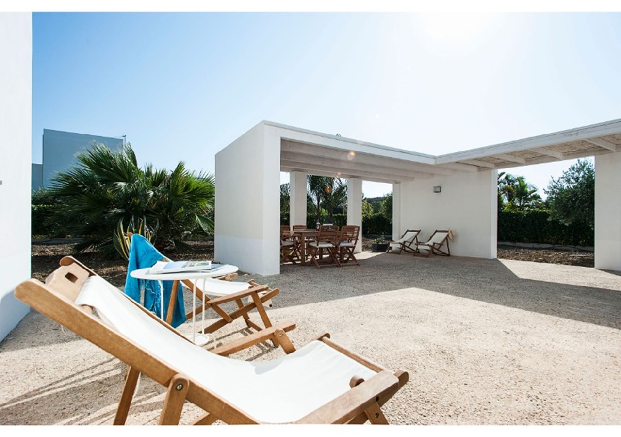 Villa near Lido Fiori di Menfi in western Sicily, sleeping 6 people