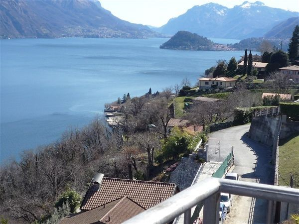 Villa with panoramic Lake Como views for 8 people near Mennagio