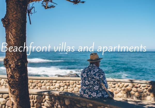 Italy beach villas